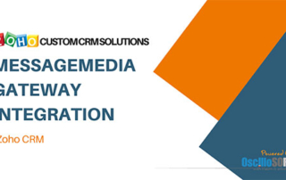 YT ZOHO CUSTOM SOLUTIONS Messagemedia gateway integration