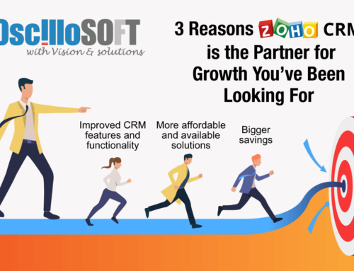 3 Reasons Zoho CRM is the Partner for Growth You've Been Looking For