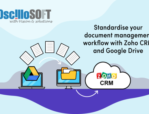 Standardise your document management workflow with Zoho CRM and Google Drive