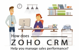 Zoho CRM manage sales