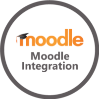 Moddle Integration Logo By Zoho