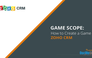 Zoho CRM game scope