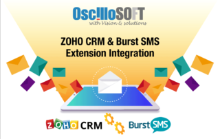 Zoho CRM burst SMS