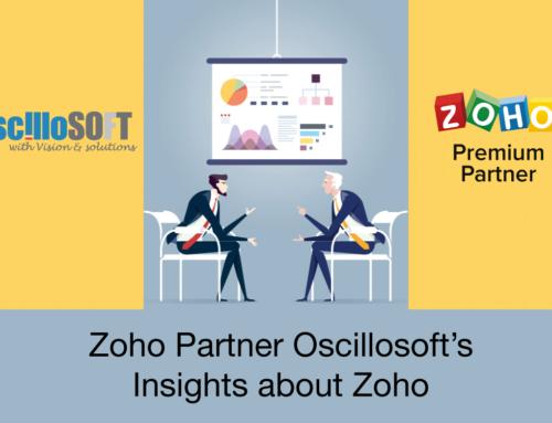 Zoho Partner Oscillosoft's Insights about Zoho