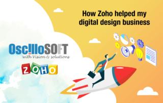Zoho digital design business