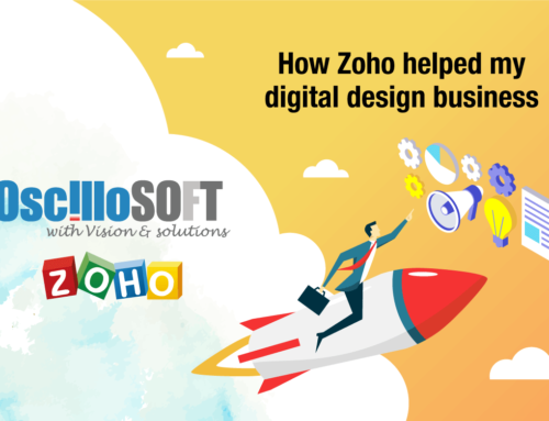 How Zoho helped my digital design business