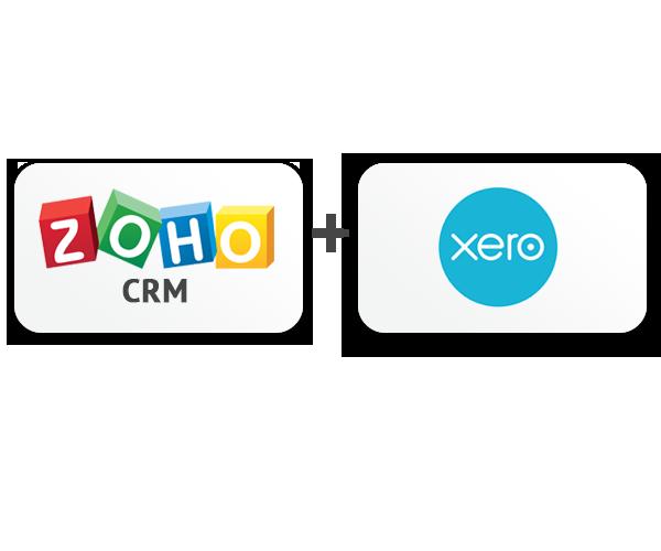 Zoho and Xero Logo