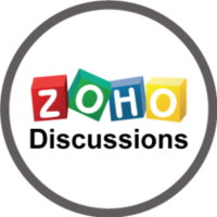 Zoho Discussions