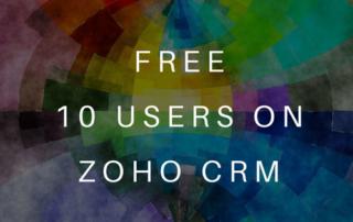 10 Users Zoho CRM