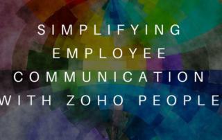 Zoho Simplifying Employee