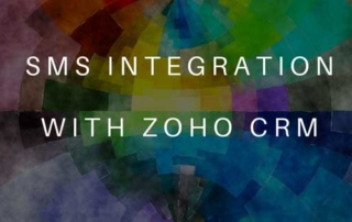 Zoho CRM SMS Integration