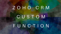 Zoho CRM Function