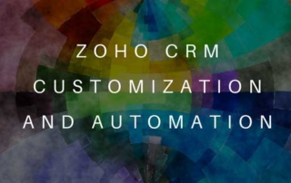 Zoho CRM Costomization