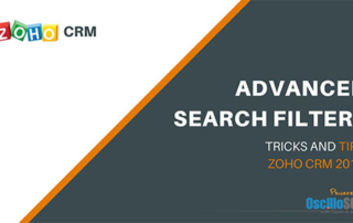 Zoho CRM Advanced Search Filters