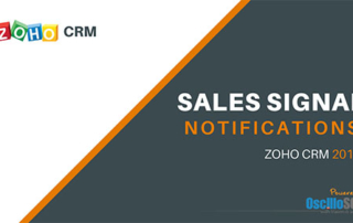 Zoho CRM Sales Signal