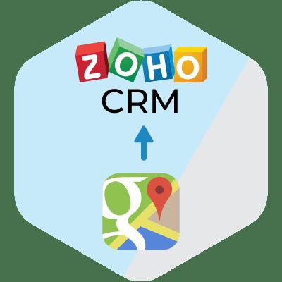 Zoho2GoogleMaps Finder