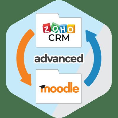 zoho crm 2 moodle advanced
