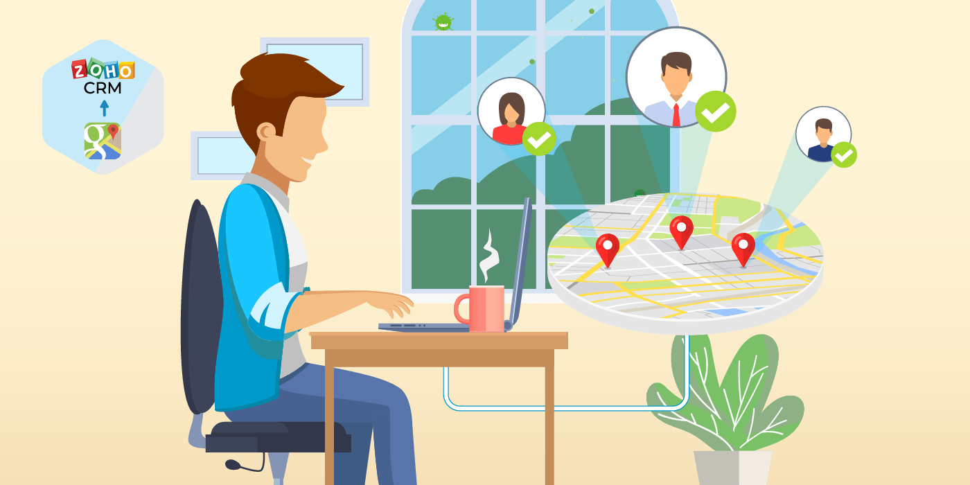 Zoho CRM 2 Google Maps Address Finder: 5 Ways It Can Make a Tremendous Impact in Your Business