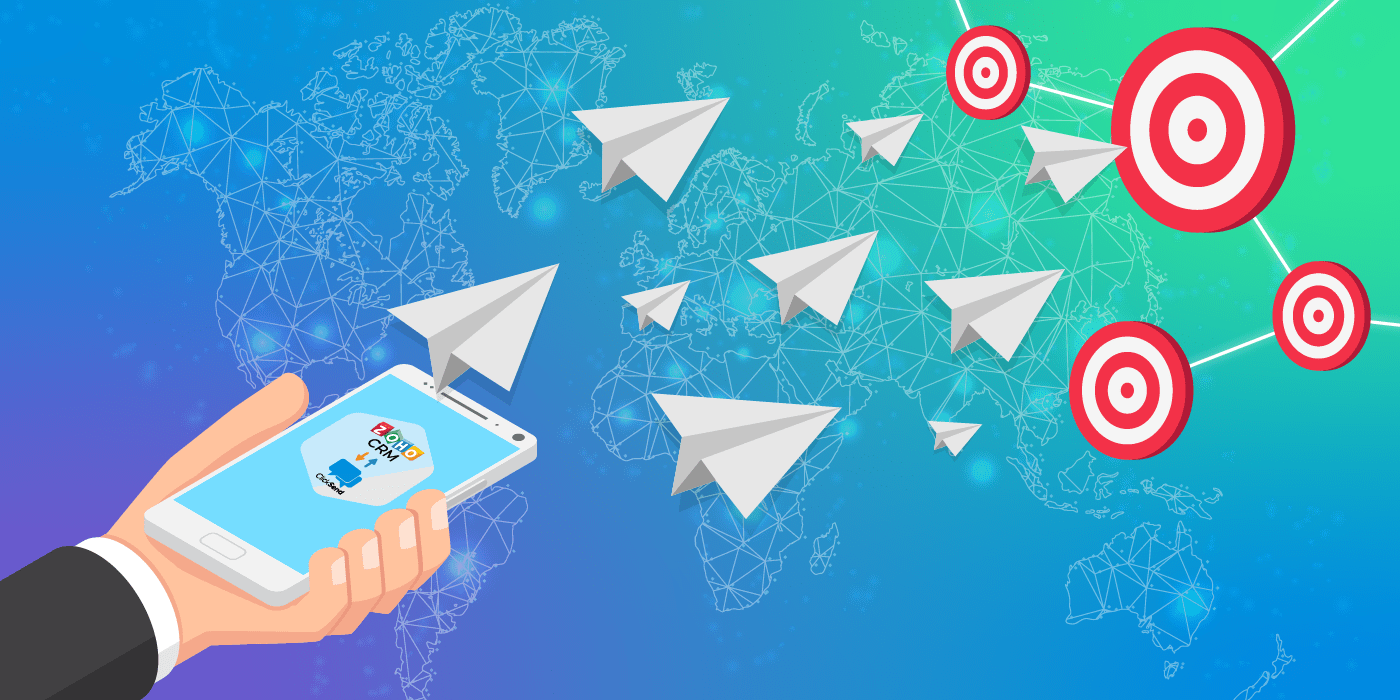 5 Reasons Why You Should Consider Using Zoho CRM 2 ClickSend for SMS Marketing