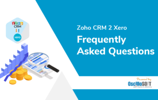 Zoho CRM 2 Xero Integration FAQs, Frequently Asked Questions