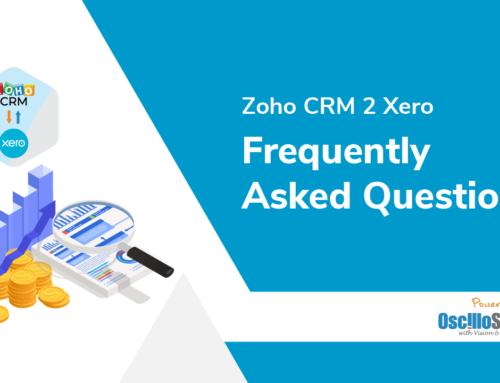 Zoho CRM 2 Xero FAQs