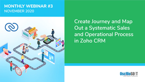 Thumbnail showing a sales process mapped using zoho crm